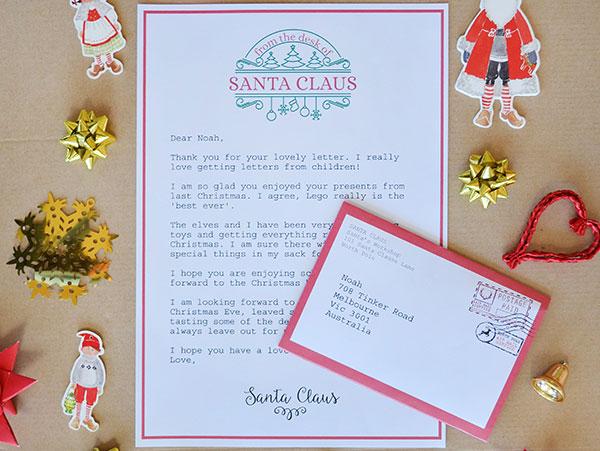 Bonus Letter from Santa!