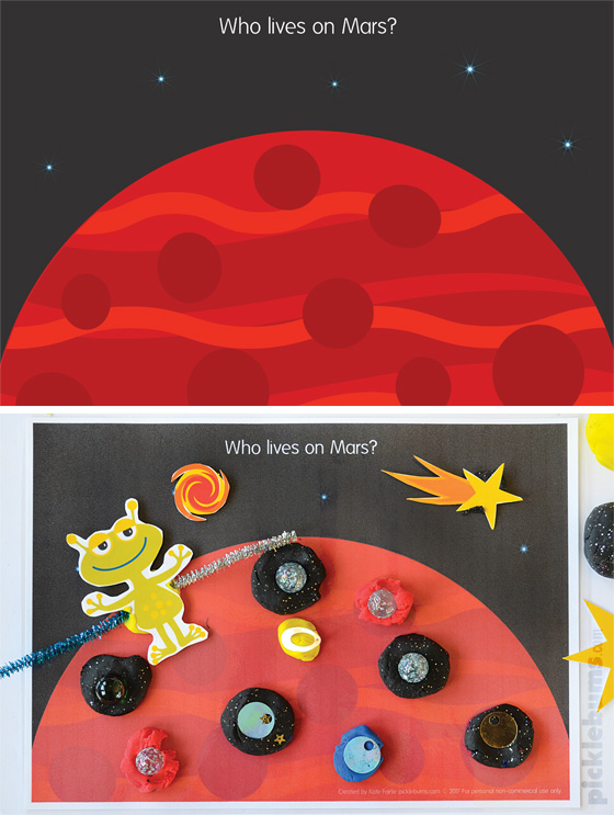Space Play Dough Mats and Accessories - Picklebums Shop