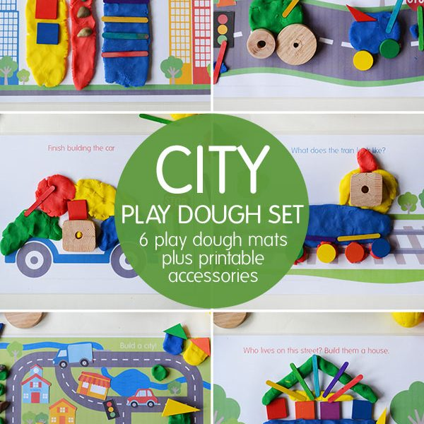 city-play-dough-mats