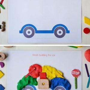 city-play-dough-mats-car