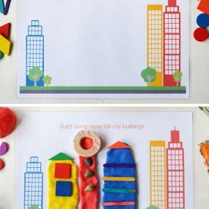 city-play-dough-mats-city