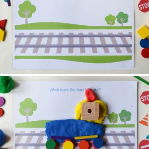 city-play-dough-mats-train