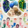 Ocean Playdough accessories